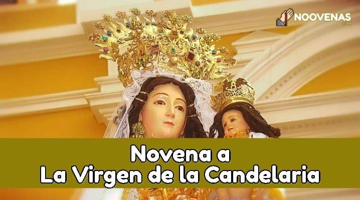 Plegarias a la Virgen de la Candelaria
