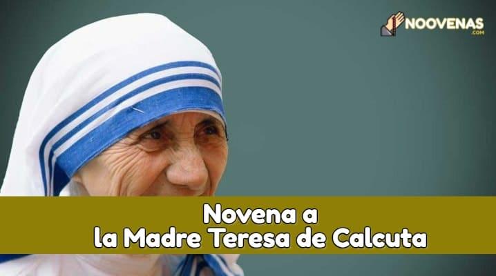 Novena Madre Teresa de Calcuta
