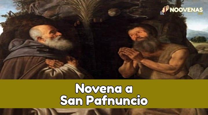 Novena a San Pafnuncio