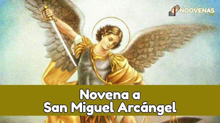 Novena a San Miguel Arcangel para el trabajo