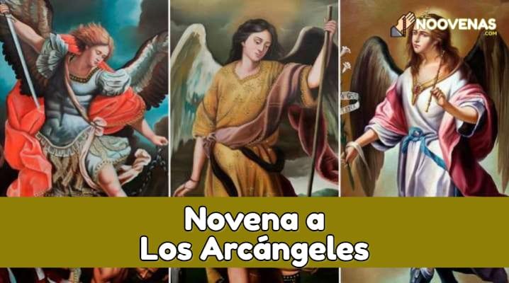 novena a los arcangeles